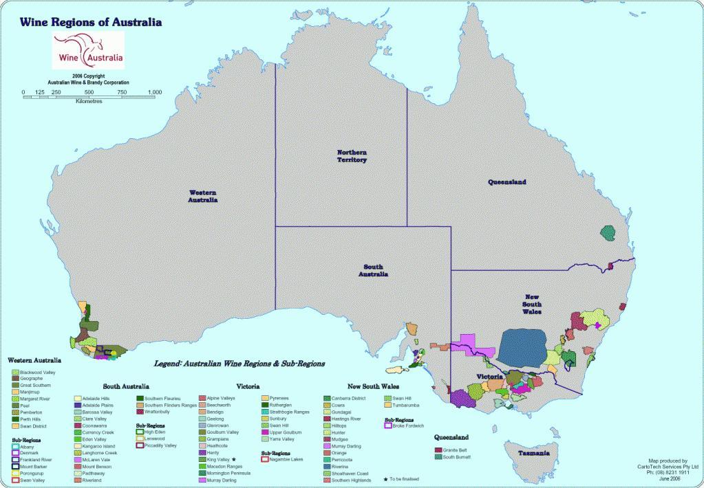 vin australien