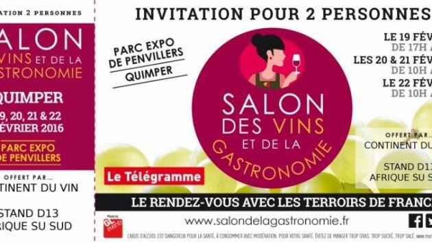 Guide des vins du monde actualit s de terroirs d for Salon gastronomie nantes
