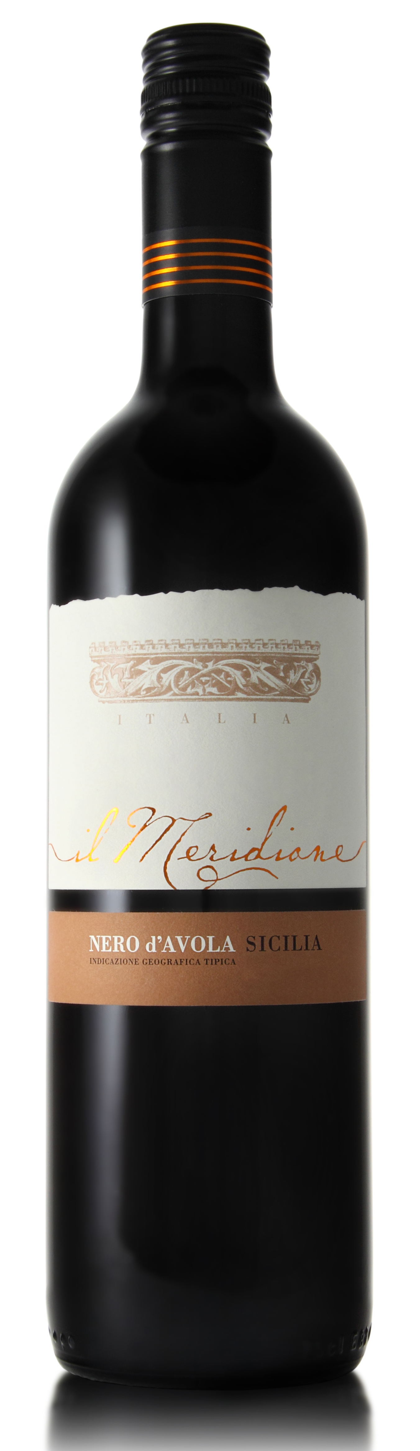 MERIDIONE Nero d'Avola new label