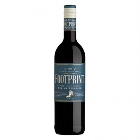 Vin Sud Africain - FOOTPRINT- Merlot/Pinotage- 2015
